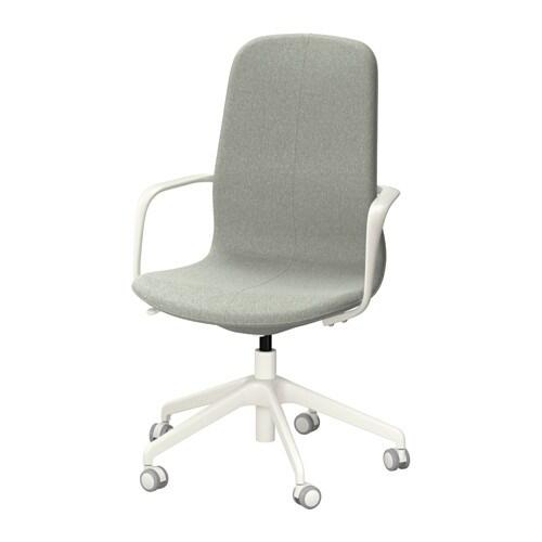 L ngfj ll sedia da ufficio gunnared verde chiaro bianco for Ufficio verde