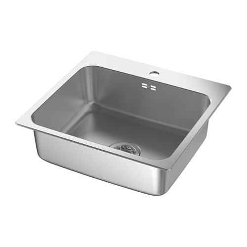 L ngudden lavello da incasso 1 vasca ikea - Ikea vasca da bagno ...
