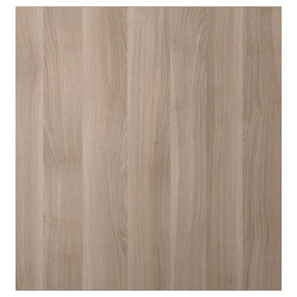LAPPVIKEN Anta, effetto noce mordente grigio, 60x64 cm