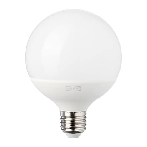 Ledare lampadina led e27 1000 lumen ikea for Lampadine led ikea