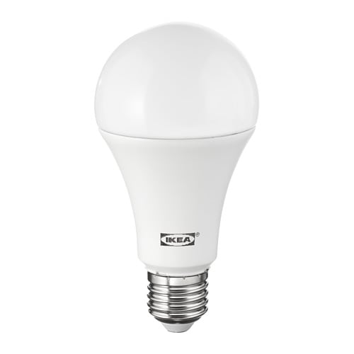 Ledare lampadina led e27 1600 lumen ikea for Lampade a led lumen