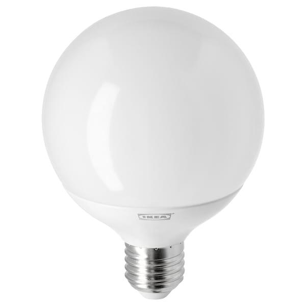 LEDARE lampadina a LED E27 1055 lumen dimming luce calda/globo bianco opalino 1055 lm 2700 K 95 mm 11.5 W 1 pezzi