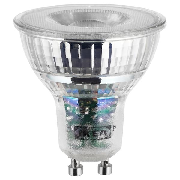 LEDARE lampadina LED GU10 400 lumen dimming luce calda 400 lm