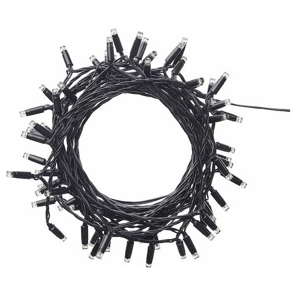 LEDLJUS illuminazione a LED 64 luci da esterno nero 4 m 15 cm 2.2 W 13.5 m