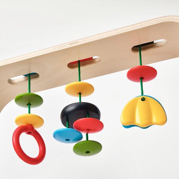 LEKA Palestrina per bambini, betulla/multicolore