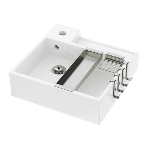 Lill ngen lavabo a 1 vasca 41x41x13 cm ikea - Ikea lavabo bagno ...