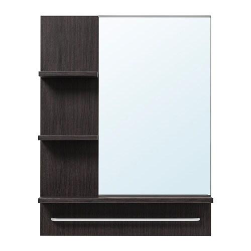 Lill ngen specchio marrone nero ikea - Lillangen specchio ...