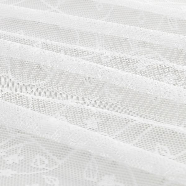 LILLYANA tenda sottile, 2 teli bianco/fiore 300 cm 145 cm 0.57 kg 4.35 m² 2 pezzi