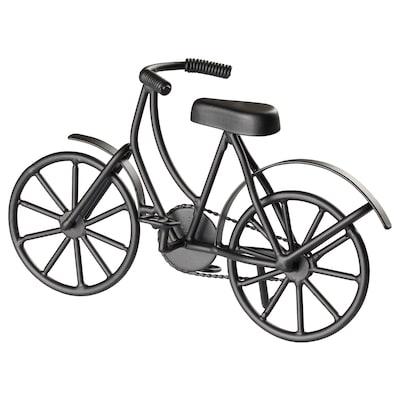 LINDRANDE Decorazione, bicicletta nero, 14 cm