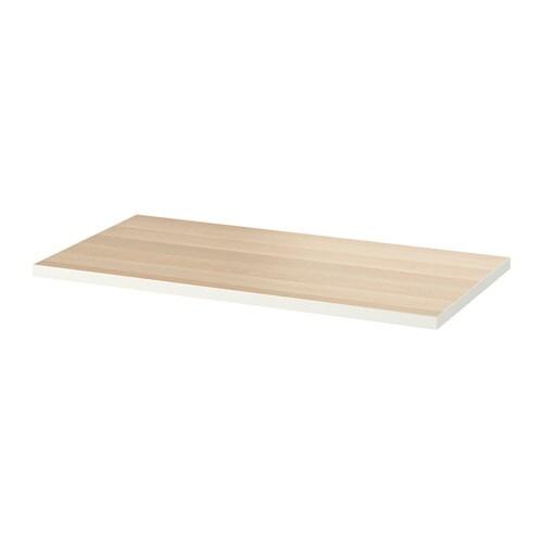 Piani Per Tavoli Ikea.Linnmon Piano Tavolo Bianco Ikea