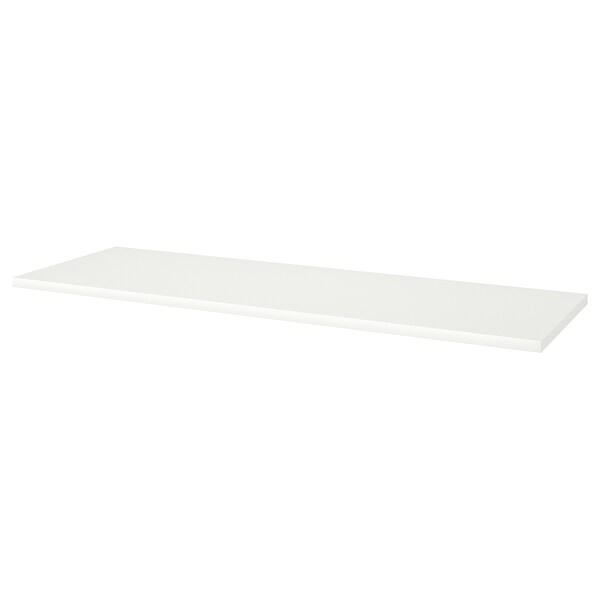 LINNMON Piano tavolo, bianco, 200x60 cm