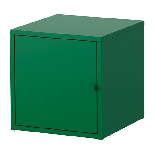Lixhult mobile metallo verde scuro ikea for Mobile metallo ikea