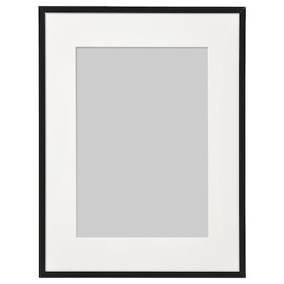 LOMVIKEN Cornice, nero, 30x40 cm
