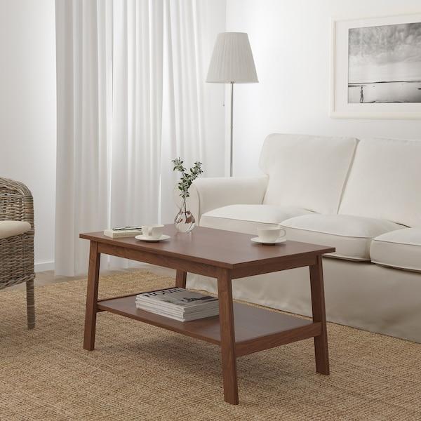 LUNNARP Tavolino, marrone, 90x55 cm