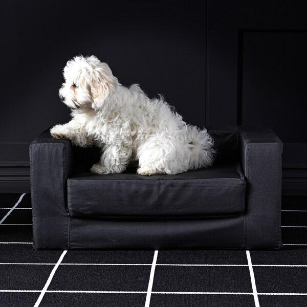 LURVIG Cuccia per gatti/cani, nero, 68x70 cm