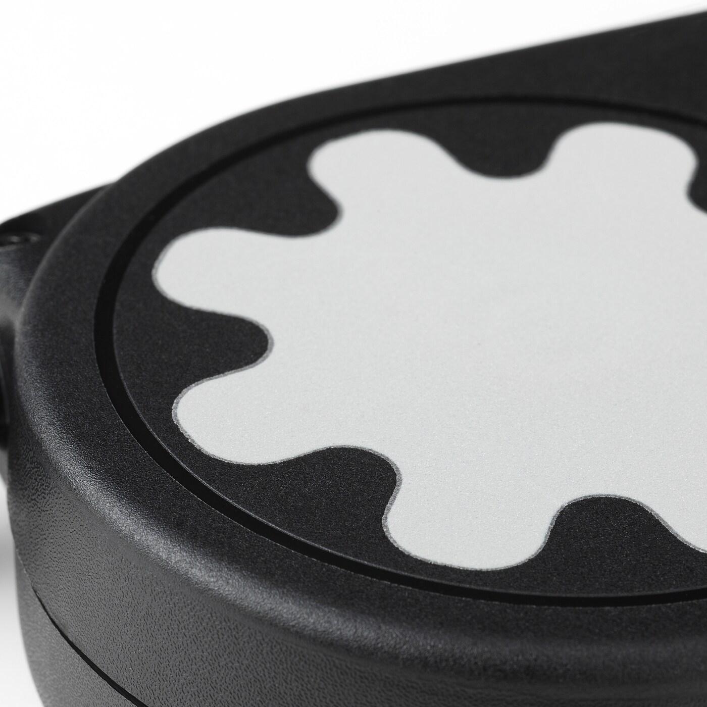 LURVIG Guinzaglio avvolgibile, nero, 25 kg