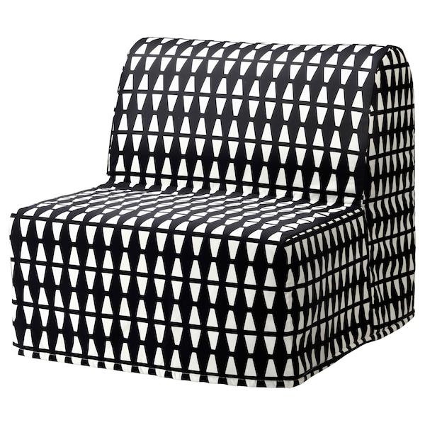 Ikea Poltrone Per Camera Da Letto.Lycksele Fodera Per Poltrona Letto Ebbarp Nero Bianco Ikea