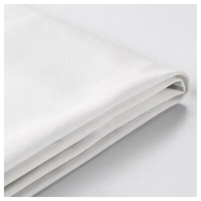 LYCKSELE Fodera per divano letto a 2 posti, Ransta bianco