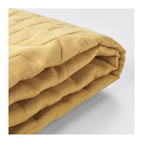 LYCKSELE Fodera per divano letto a 2 posti - Vallarum giallo, - - IKEA