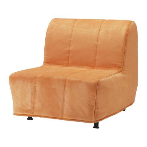 Lycksele fodera per poltrona letto hen n arancione ikea for Poltrona letto futon ikea