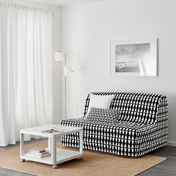 Divani Letto Ikea Due Posti.Lycksele Lovas Divano Letto A 2 Posti Ebbarp Nero Bianco Ikea