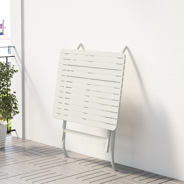 Ikea Tavoli Da Esterno.Malaro Tavolo Da Giardino Pieghevole Bianco Bianco 80x62 Cm Ikea
