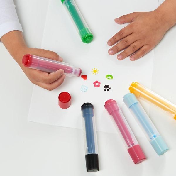 MÅLA Penna/timbro, colori vari