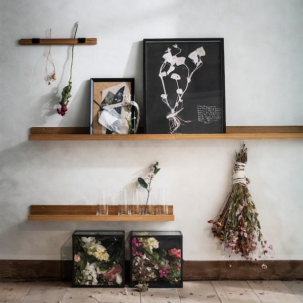 MÅLERÅS Mensola per quadri, bambù, 75 cm