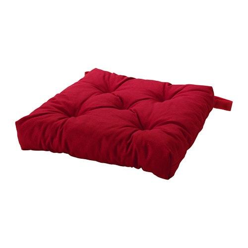 Malinda cuscino per sedia rosso ikea for Ikea tovagliette