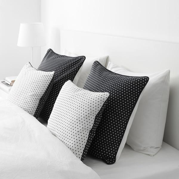 Cuscini Da Letto Ikea.Malinmaria Cuscino Grigio Scuro Bianco A Pois 40x40 Cm Ikea It