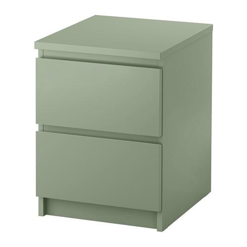 MALM Cassettiera con 2 cassetti IKEA Utilizzabile anche come comodino ...