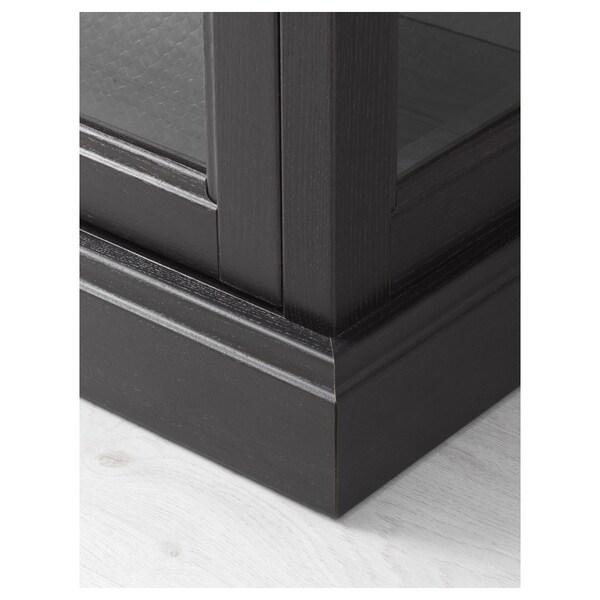 MALSJÖ Vetrina, mordente nero, 103x48x141 cm