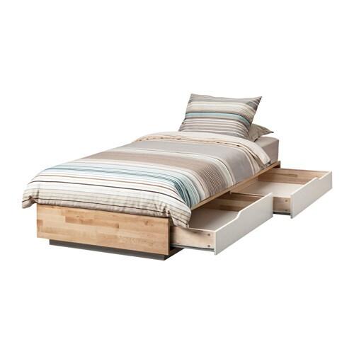 Mandal struttura letto con cassetti ikea - Struttura letto singolo ikea ...