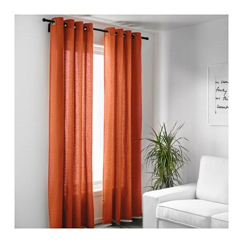 Tende arancioni ikea colori per dipingere sulla pelle for Ikea catalogo tende