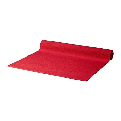 MÄRIT Runner , rosso Lunghezza: 130 cm Larghezza: 35 cm