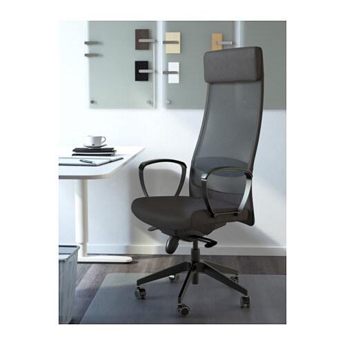 Markus Sedia Da Ufficio Vissle Grigio Scuro Ikea