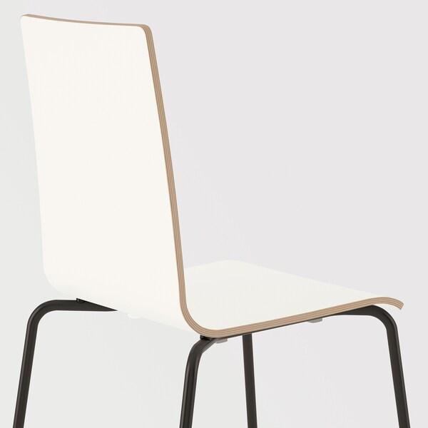 MARTIN Sedia, nero, bianco IKEA