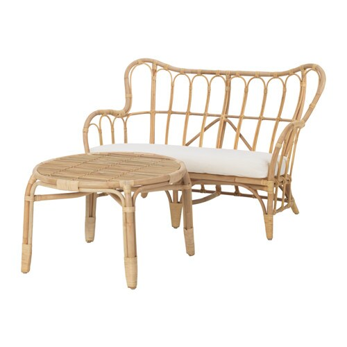 Mastholmen set di mobili da giardino a 2 posti ikea for Divani da giardino ikea