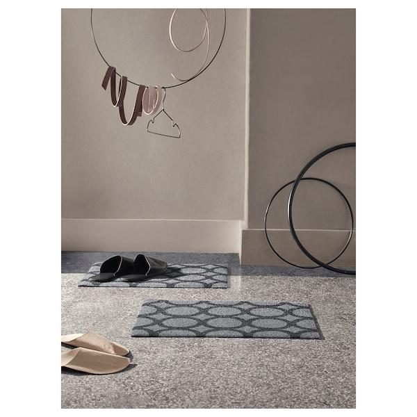 MEJLS Zerbino, a cerchi grigio/nero, 40x60 cm