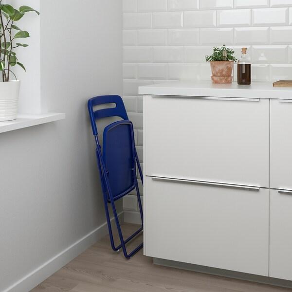 Tavolo Pieghevole Ikea Con Sedie.Melltorp Nisse Tavolo E 2 Sedie Pieghevoli Bianco Blu Lilla