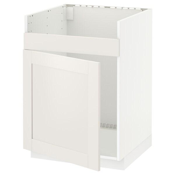 Mobile base per lavello 1vas HAVSEN METOD bianco, Sävedal bianco