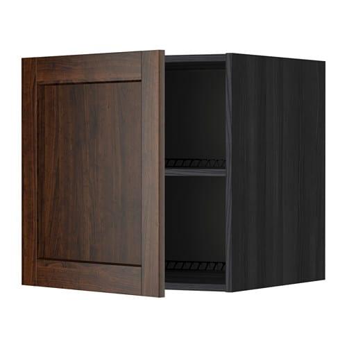 METOD Elemento top per frigocongelatore  effetto legno