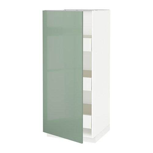 Metod f rvara mobile alto con cassetti bianco kallarp - Mobile alto e stretto ikea ...
