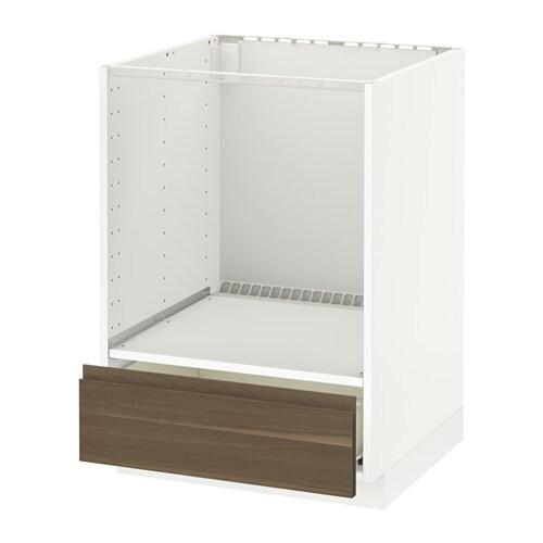 Metod f rvara mobile base per forno e cassetto bianco - Mobile da incasso forno ikea ...