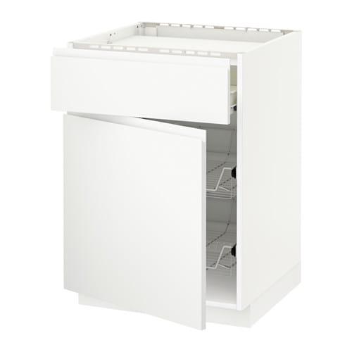 Metod f rvara mobile piano cottura casset 2cestel bianco voxtorp bianco ikea - Mobile piano cottura ...