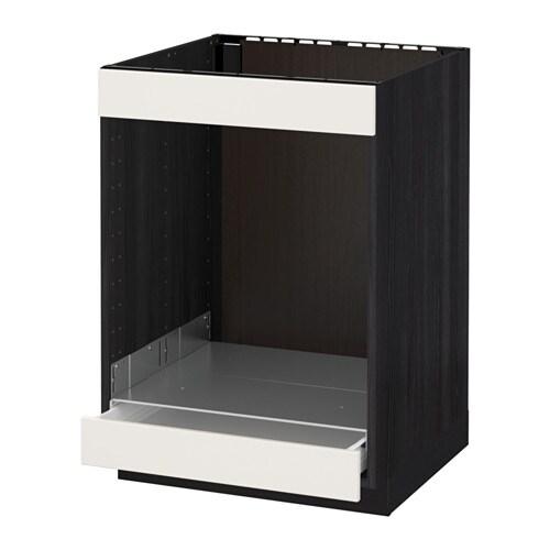 METOD / FÖRVARA Mobile piano cottura+forno/cassetto - bianco ...