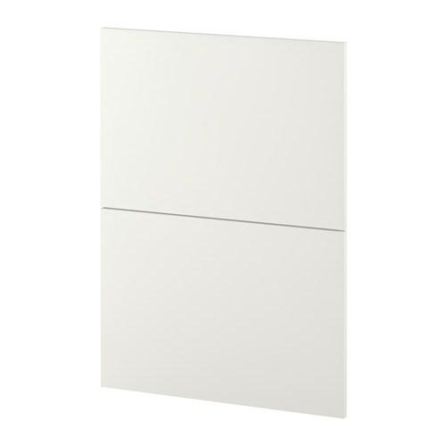 Metod 2 frontali per lavastoviglie h ggeby bianco ikea - Lavastoviglie da incasso ikea ...