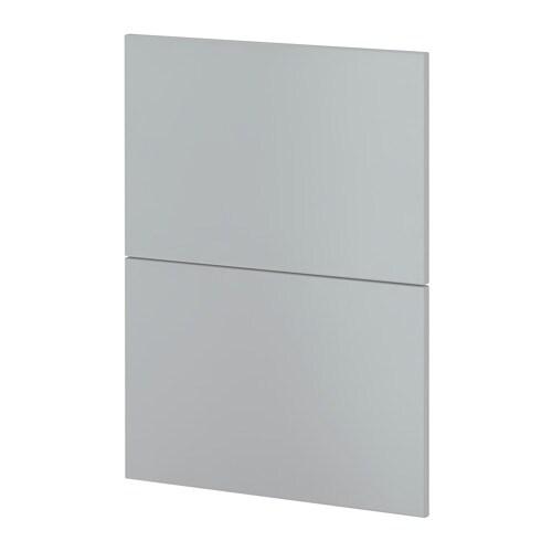 Metod 2 frontali per lavastoviglie veddinge grigio ikea - Ikea elettrodomestici da incasso ...