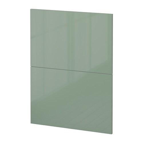 Metod 2 frontali per lavastoviglie kallarp lucido verde - Ikea elettrodomestici da incasso ...