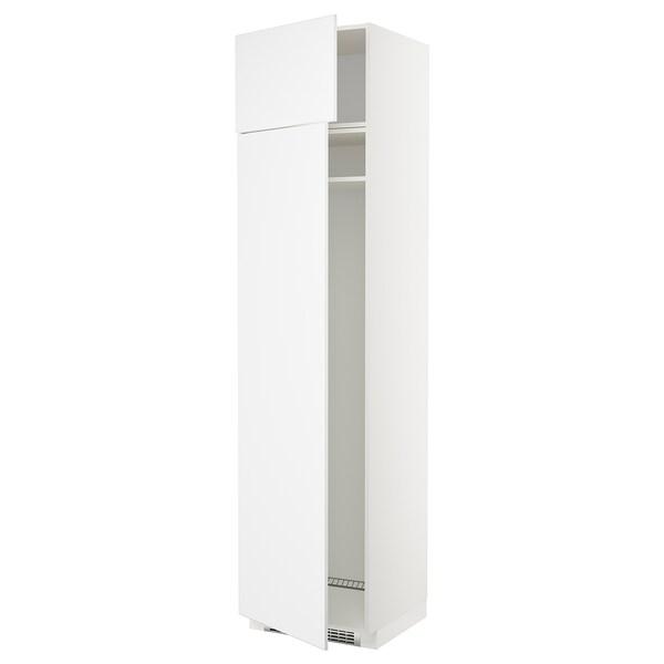 Frigo A Due Ante.Metod Mobile Frigo O Congelatore 2 Ante Bianco Kungsbacka Bianco
